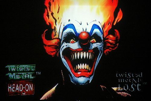 Sweet tooth twisted metal google search things that i - Sweet tooth wallpaper twisted metal ...