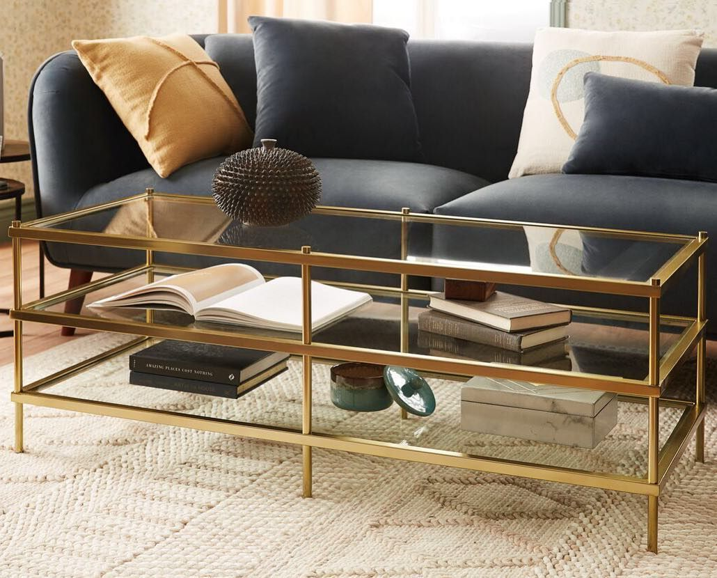 Elegant Classy Sophisticated Harlow Adds A Luxurious Touch To Any Living Room Mystructubestyle Stuctu Coffee Table Contemporary Coffee Table Living Room [ 830 x 1030 Pixel ]