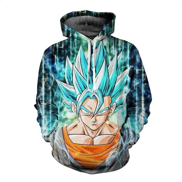 3d Hoodie Dragon Ball Goku Ultra Instinct Super Saiyan Dragon Ball