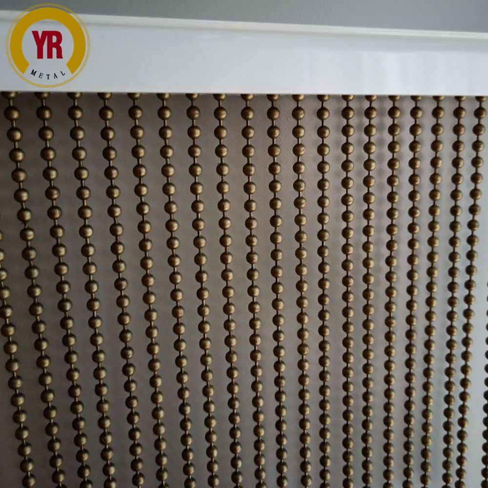 5mm Antique Bronze Metal Bead Curtain What S App 86 15081186699