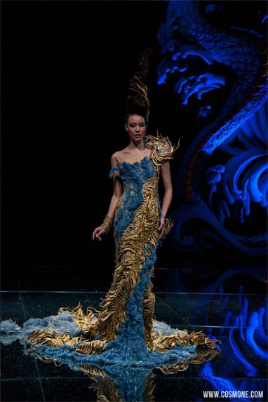 Haute Couture Receives Asian Flair Fashion Gowns