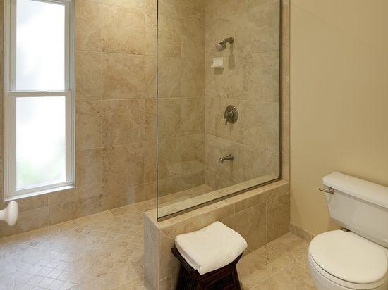 Jordan - Bathroom Remodel A sunken tub in this master bathroom made