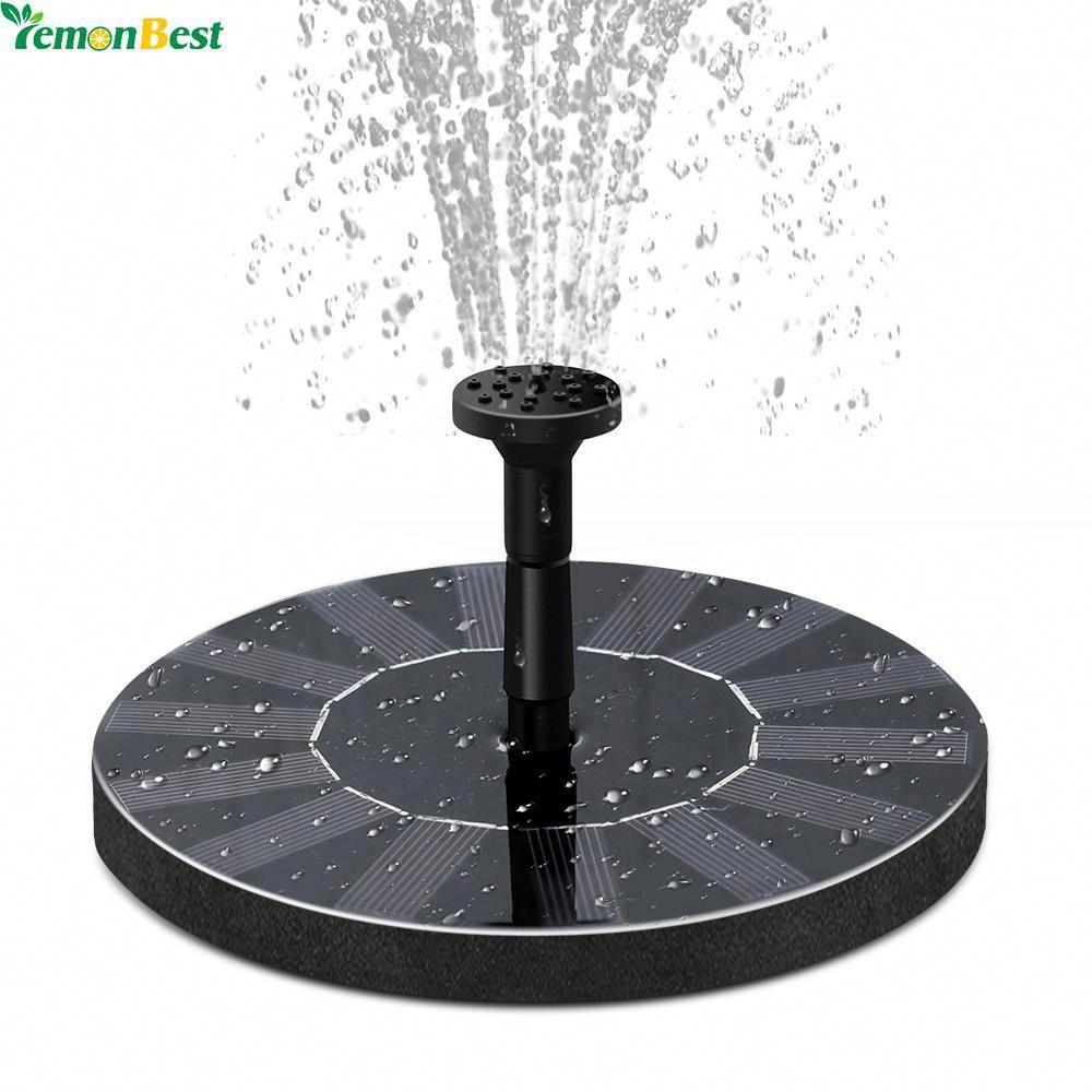 Small Solar Fountain SolarFountainDecks