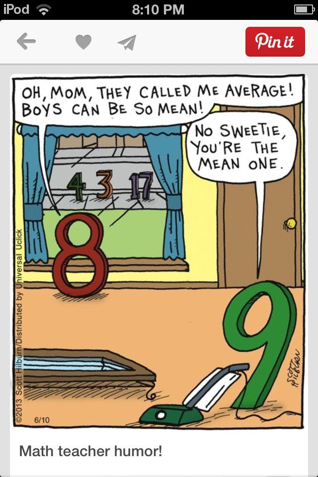 Hehehe math humour
