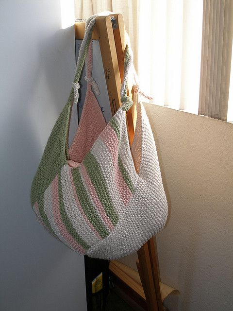 Knitting Bag Patterns Sewing : Windmill bag looks easy free pattern on ravelry and