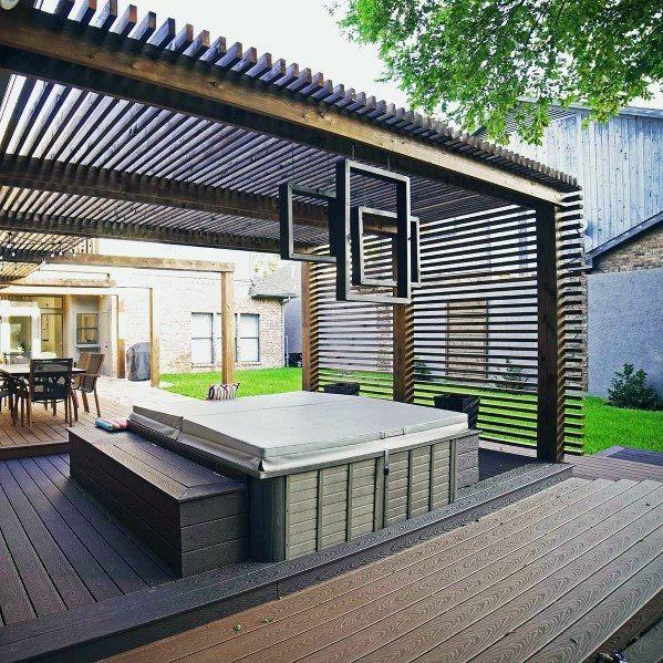 Top 40 Best Deck Roof Ideas