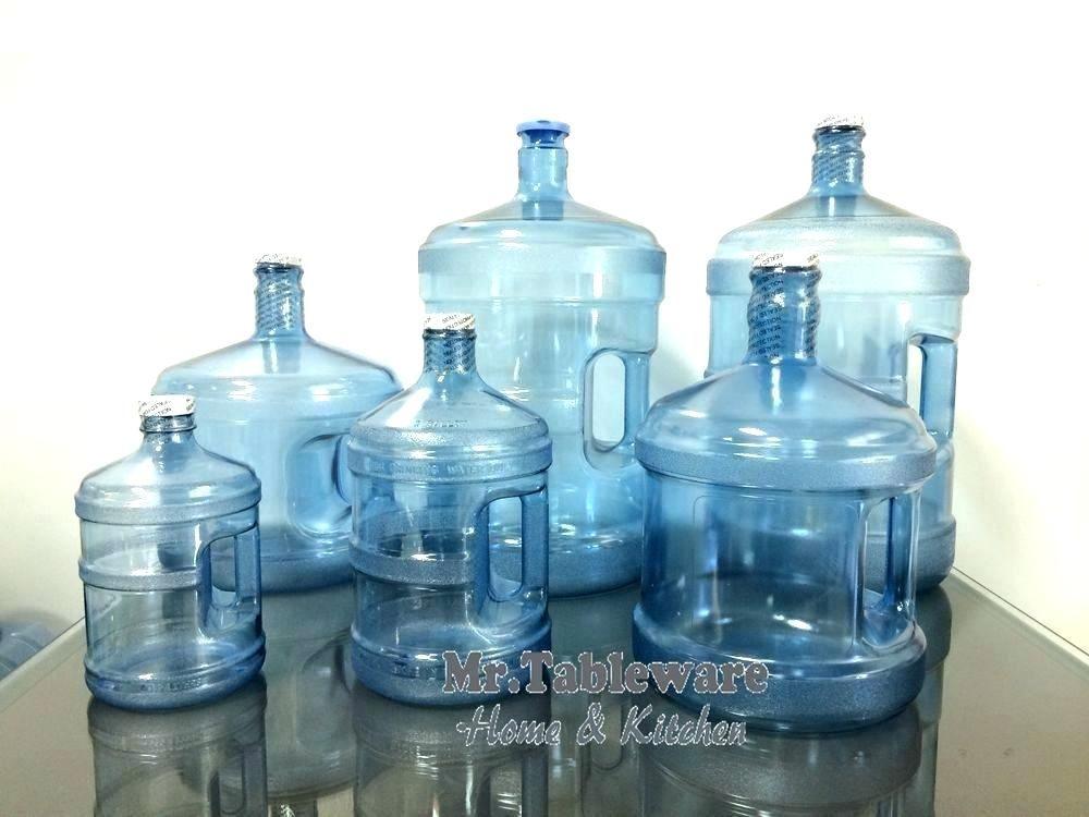 2 Gallon Water Jug 3 Plastic Bottle 5 1 Half Dispenser Glass With Spout Gallon Water Jug Water Jug Plastic Bottles