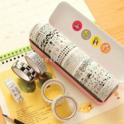 Online Shop Aliexpress grátis frete fita etiqueta Washi Tapes tecido estampado fitas decorativas coreano / Diy flores menor preço|Aliexpress Mobile