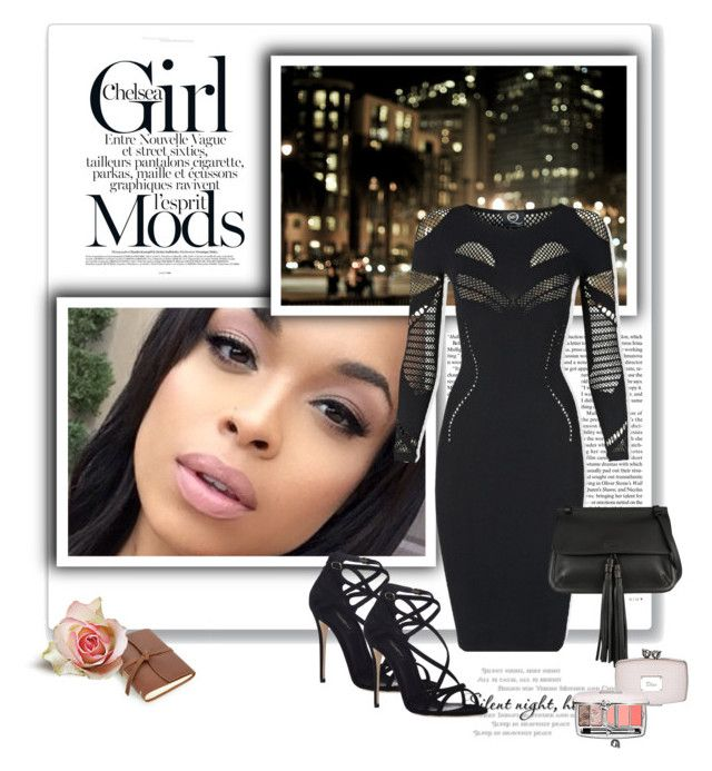 """""""SHEER INSPIRATION"""" by sameriasstylephiles ❤ liked on Polyvore"""