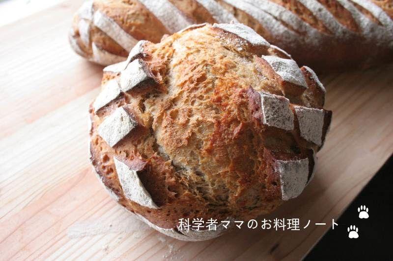パン オ セーグルのレシピです 科学者ママnickyオフィシャルブログ 科学者ママのお料理ノート Powered By Ameba レシピ パン レシピ 食べ物のアイデア