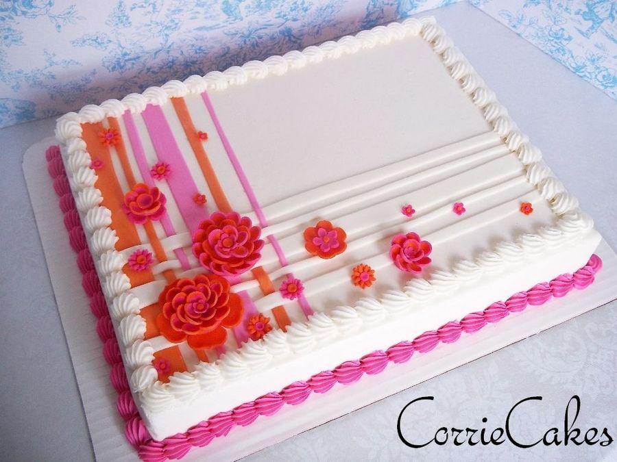 Wedding Sheet Cake Wedding Sheet Cakes Sheet Cake Designs