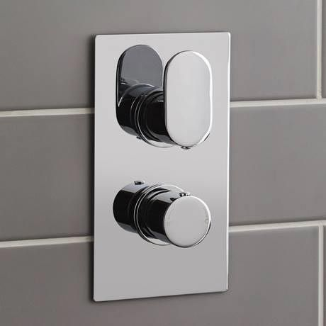 Ultra Ratio Concealed Twin Shower Valve With Built In Diverter