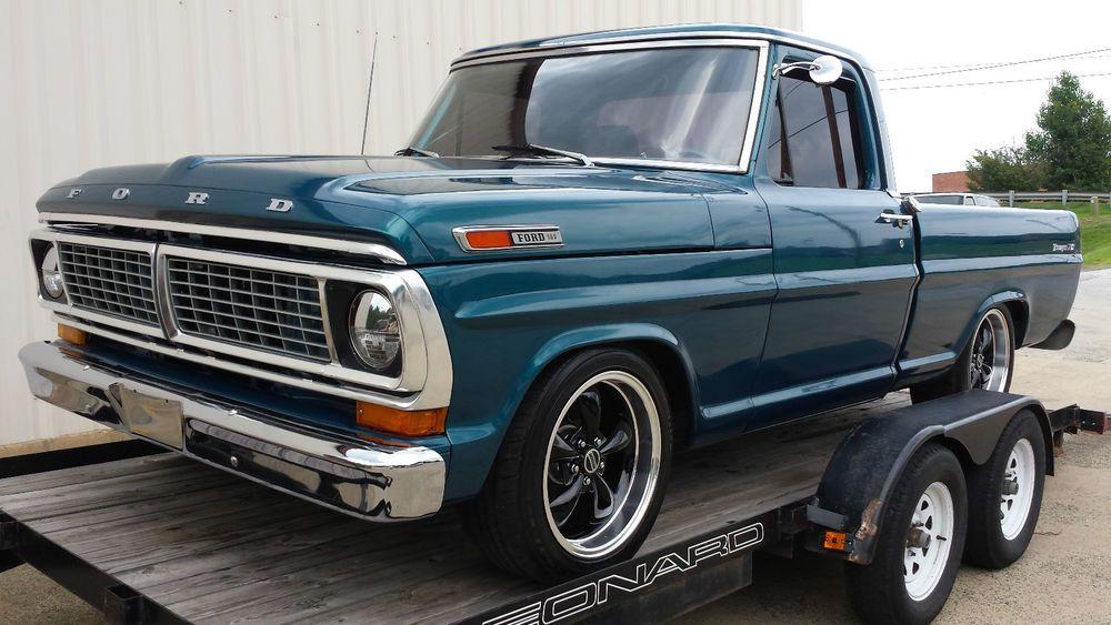 1970 Ford F100 >> 1970 Ford F100 Xlt V8 302 Classic Trucks Ford Trucks Old
