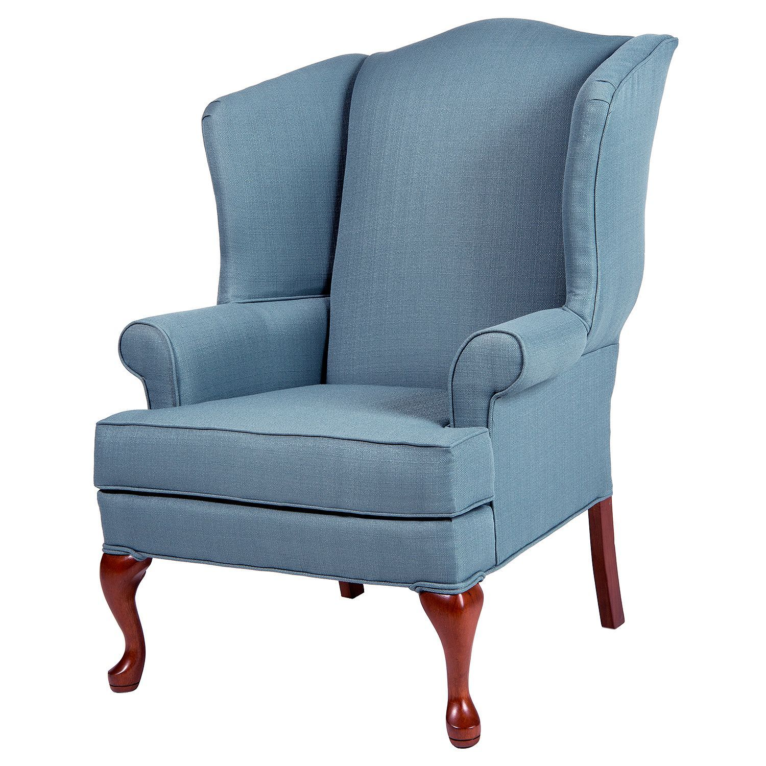 Superb Ellis Colonial Blue Wingback Chair Sams Club Wingback Gamerscity Chair Design For Home Gamerscityorg
