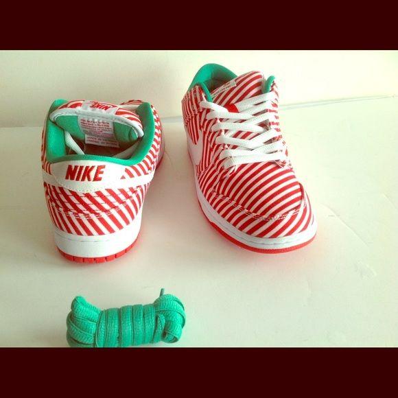 los angeles 07c96 80e83 Nike Dunk Low Premium SB Candy Cane Christmas Nike Dunk Low ...