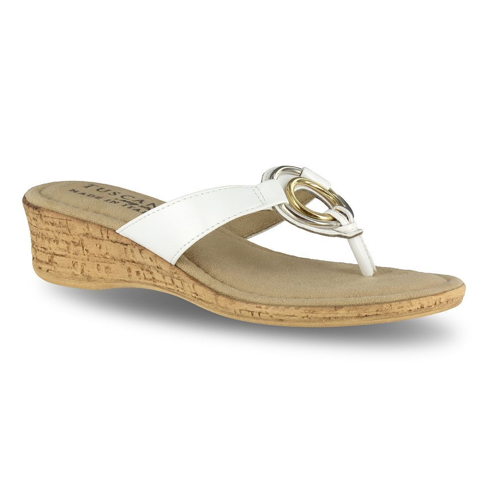 ebb7a7d9d Tuscany by Easy Street Fina Women s Wedge Sandals