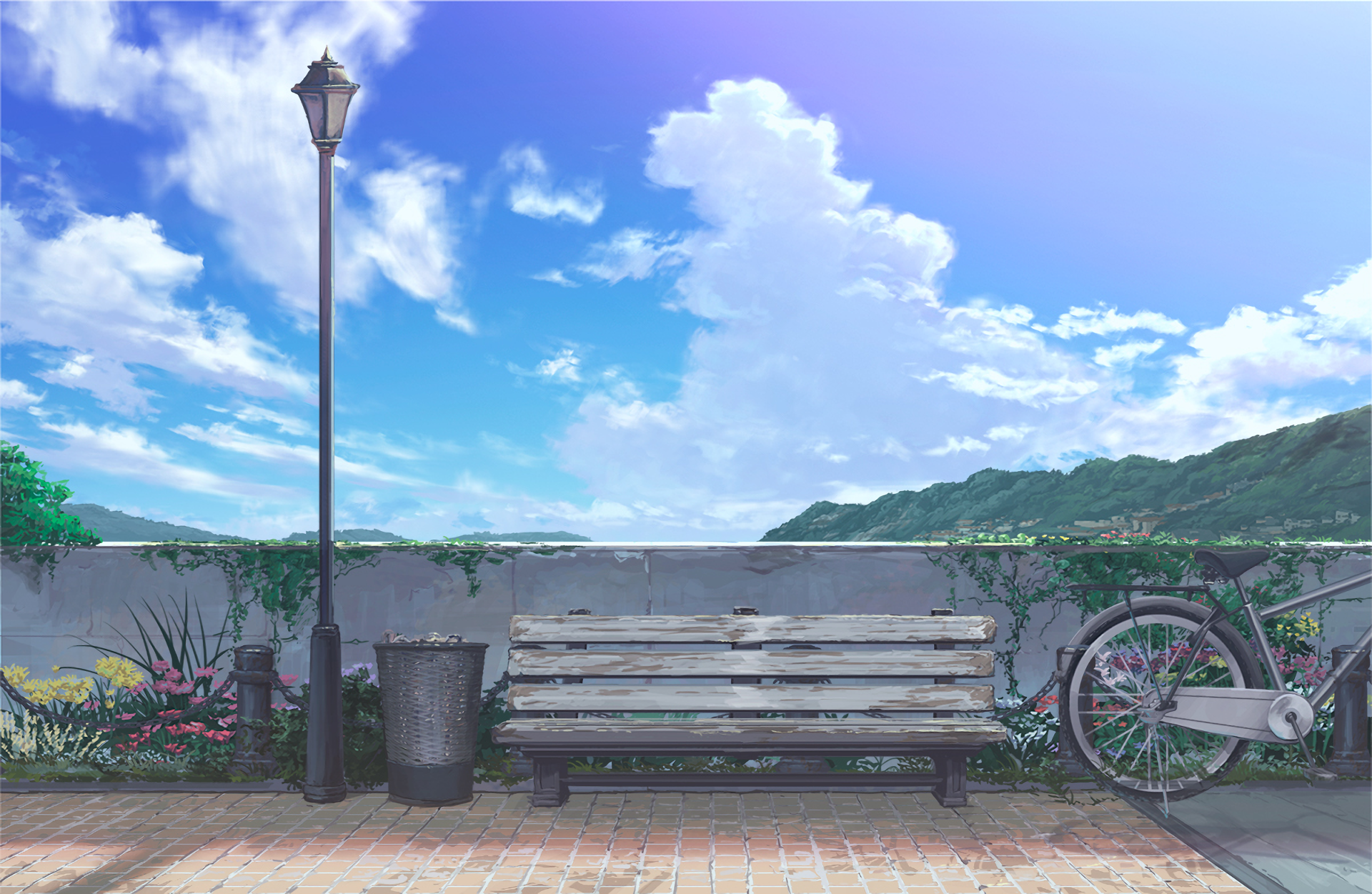 Wallpaper Abyss Anime Scenery Anime Scenery Wallpaper Anime Background