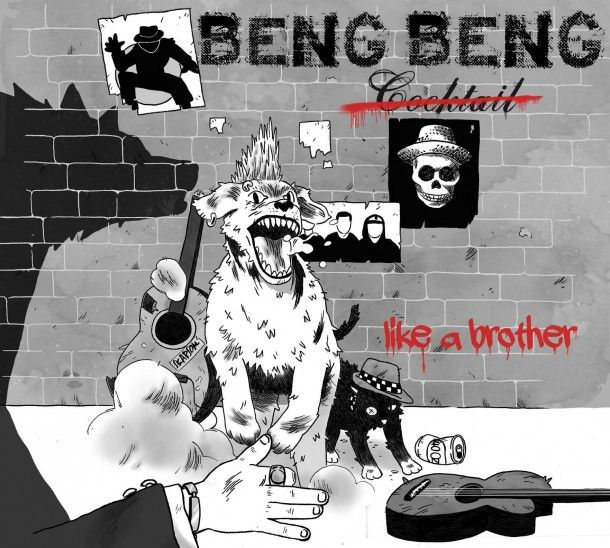 """Beng Beng Cocktail (""""Crystalcore"""") premiere """"Six Roses"""" off upcoming album """"Like A Brother""""  http://punx.uk/beng-beng-cocktail-crystalcore-premiere-six-roses-off-upcoming-album-like-a-brother/"""