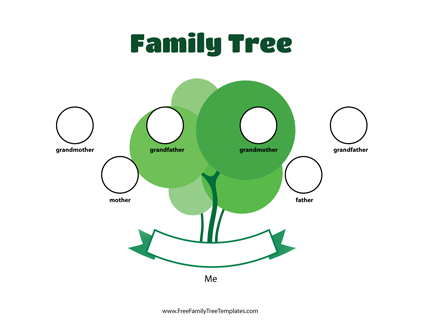 3 Generation Family Tree Template from i.pinimg.com