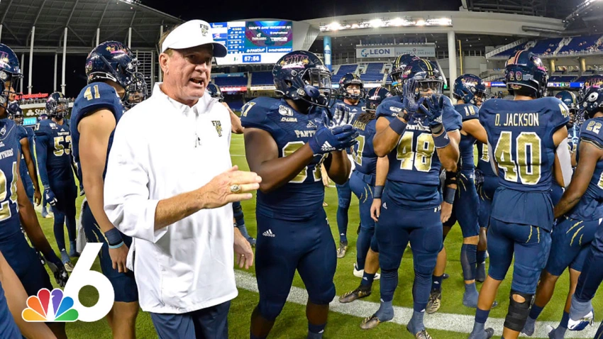 Nbc 6 College Football Preview Why 2020 Is Must Win Time For Fiu Panthers Nbc 6 South Flori College Football Coaches Panthers Football Team College Football