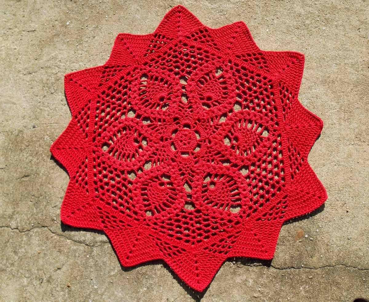 75 Modelos De Tapetes De Barbante Para Inspirar Tapete De Barbante  -> Fotos De Tapete De Croche