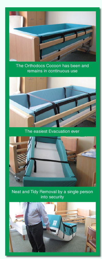 Bed Rail Protection System - Orthodocs Cocoon - Prevent Bed Falls