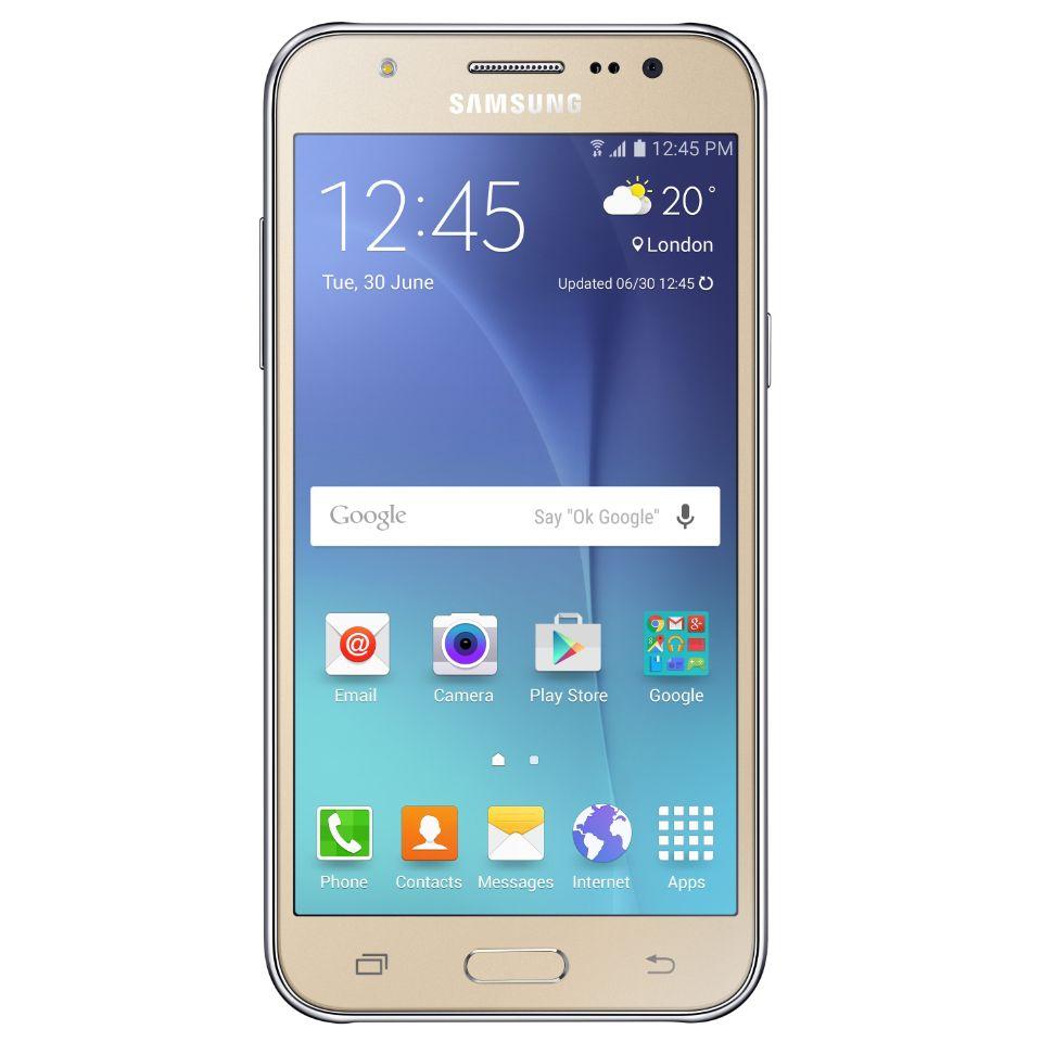 Samsung Galaxy J5 älypuhelin (kulta)