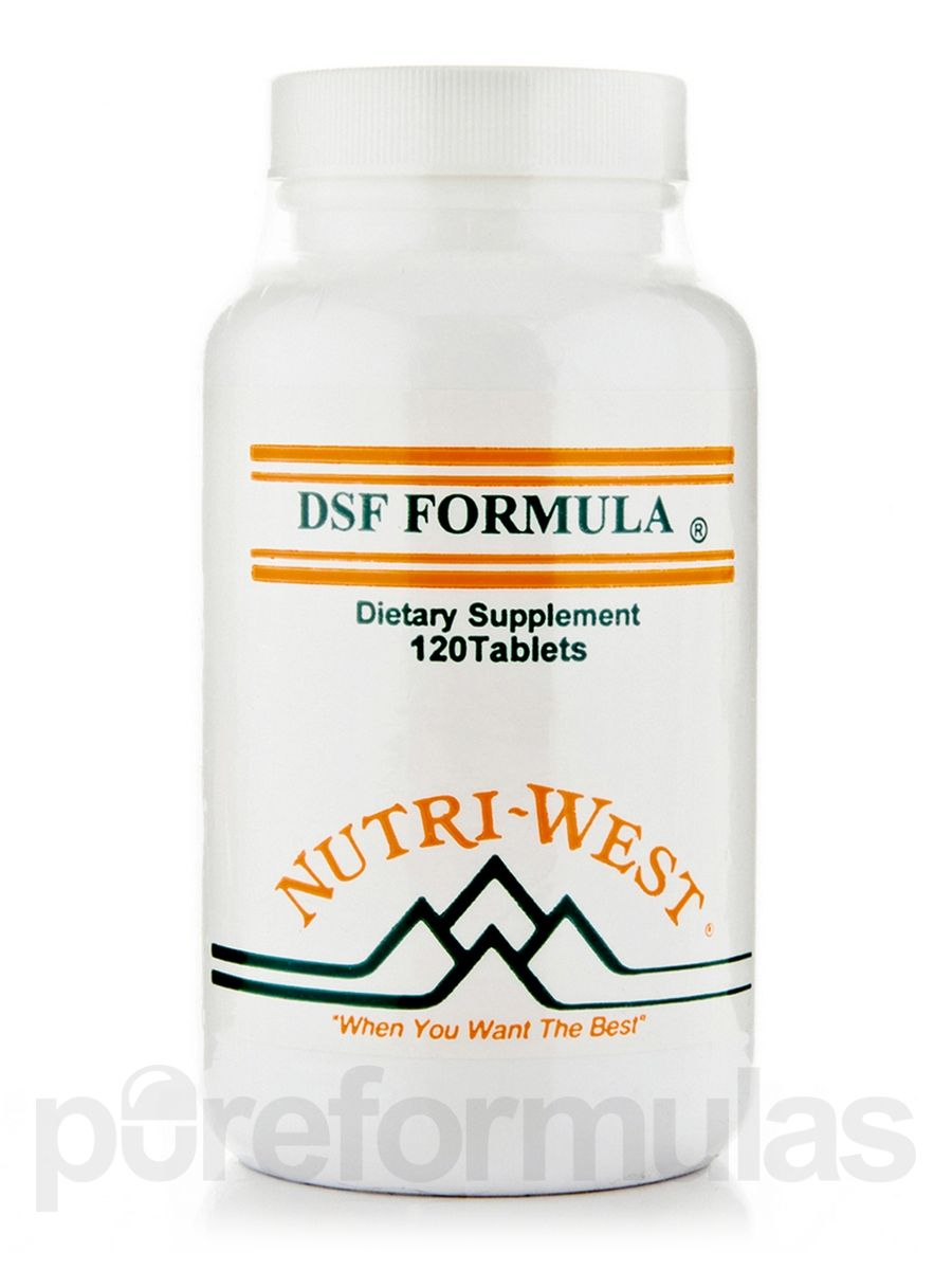 DSF Formula® - 120 Tablets | Adrenal Fatigue | Sinus remedies