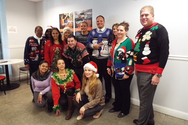 ... Eastchester Chrysler Jeep Dodge. Ugly Sweater Day At Eastchester  #uglysweater