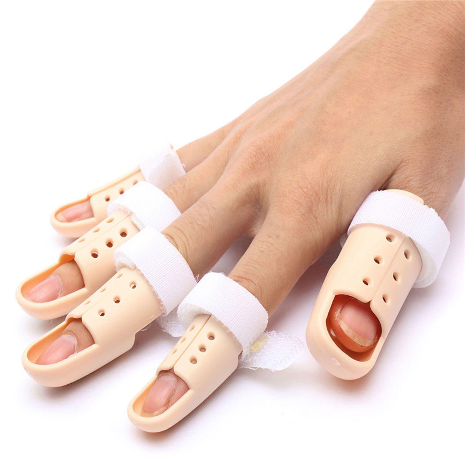 Details about Plastic Mallet Finger Splint DIP Joint ...