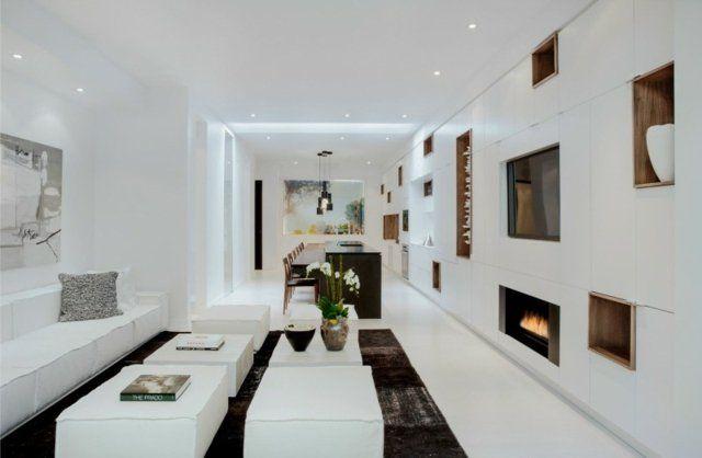 75 idées originales pour aménagement de salon moderne | Idee deco ...
