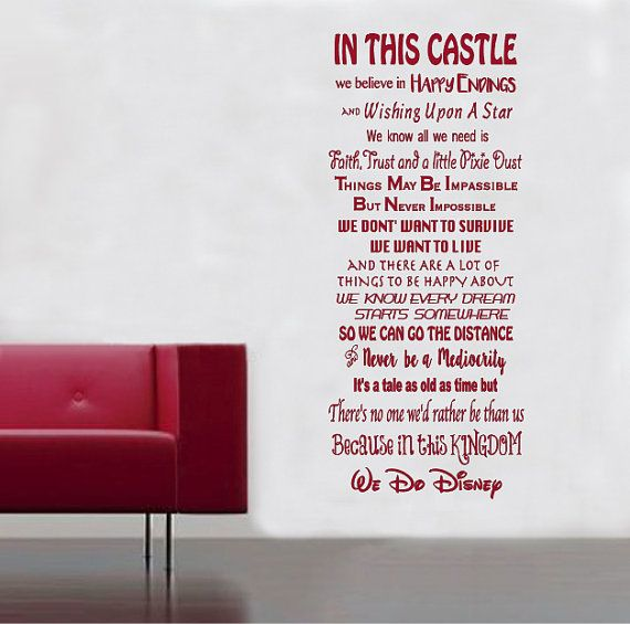 Disney quotes stair decals ohana frozen lion king finding nemo dumbo monsters inc up wreck it ralph set of 3 22 wide x 5 tall castle wallstair