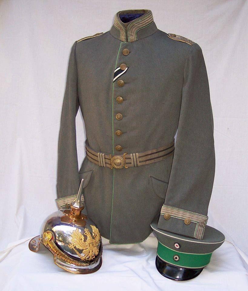 German; 8th(Rhenish) Cuirassier Regt 'Count Gessler', Officer's Uniform. Home Depot Deutz. VIII Army Corps