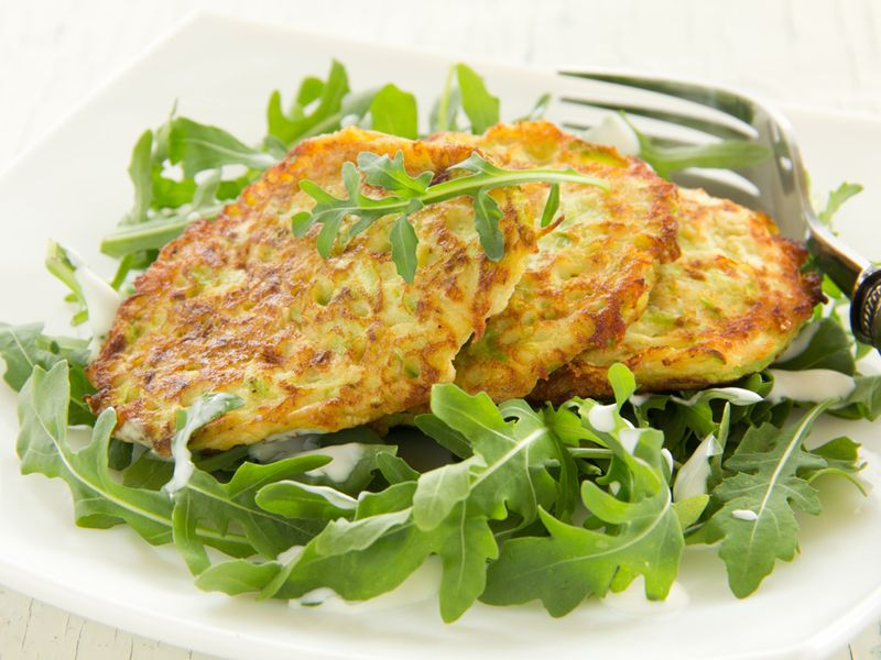 Zucchini parmesan rounds .: The Banting Chef :.