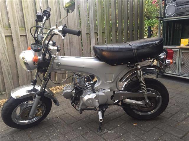 andere Dax 49cc custom 2008 grijs te koop