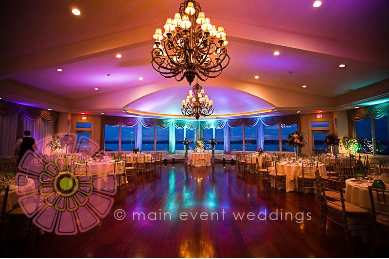 ocean cliff newport ri wedding reception with ocean view