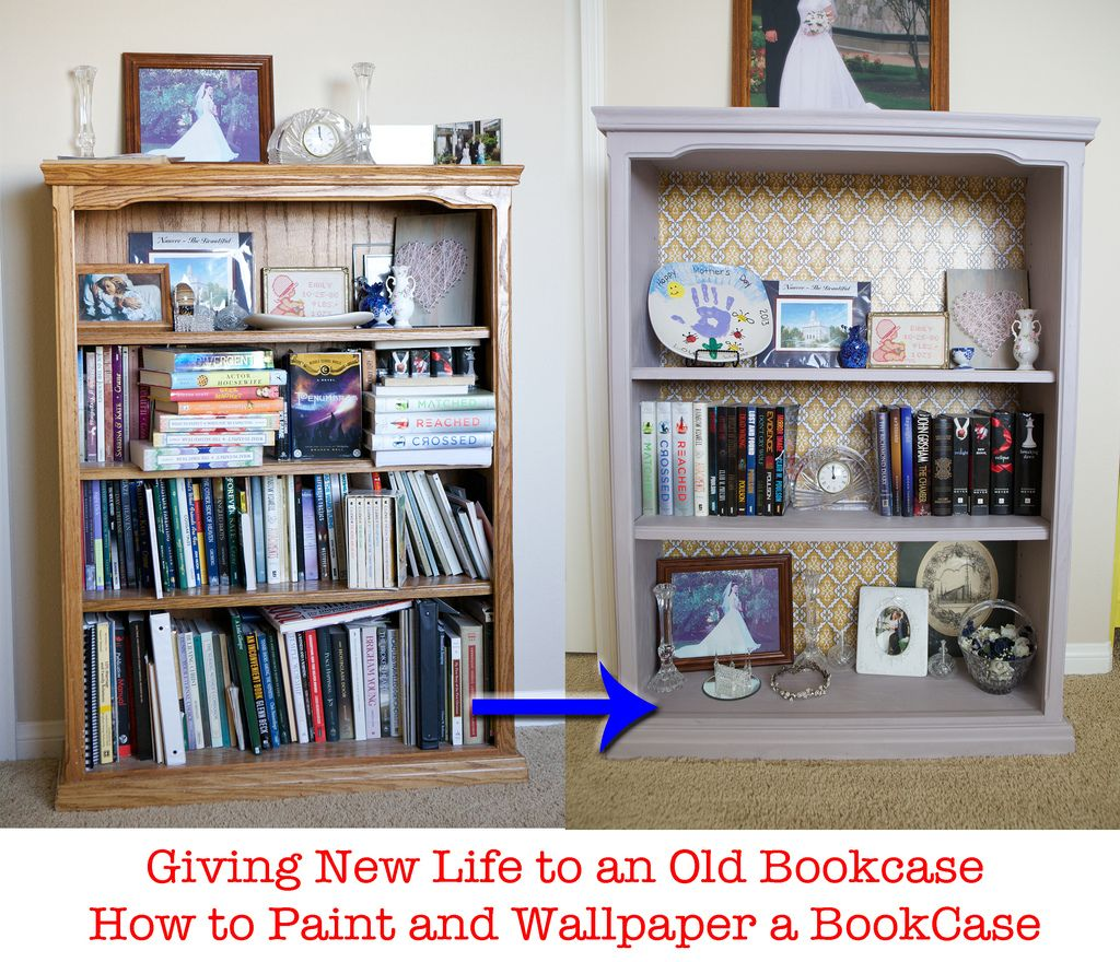 Redoing an old book case, painting with Annie Sloan Chalk Paint #DIY #bookshelf   For The Home ...