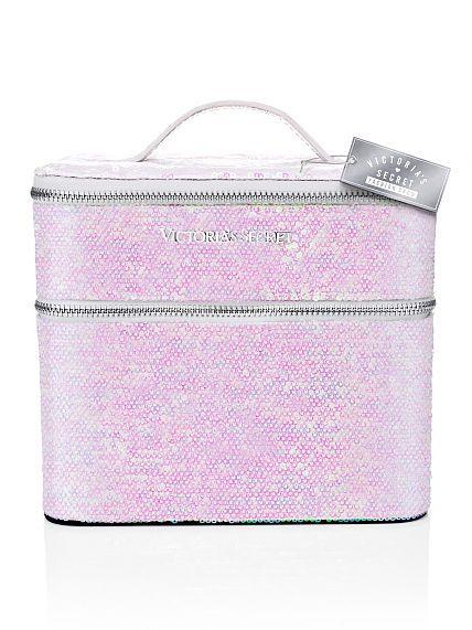Victoria's Secret   NEW! Holographic Train Case
