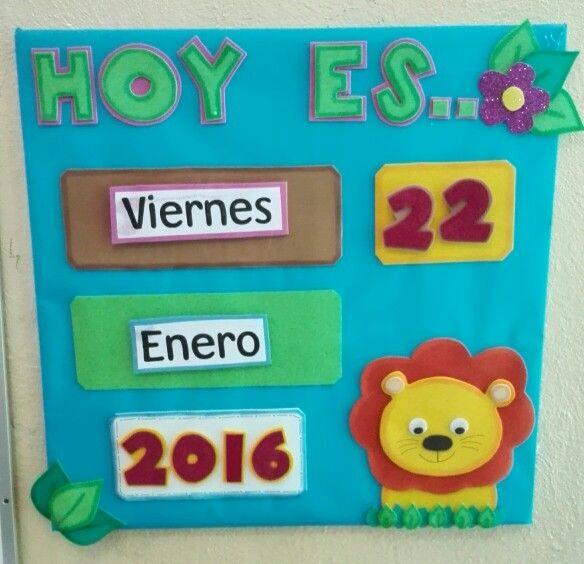 Calendario Para Kinder.Calendario Lety Calendario Preescolar Aula De