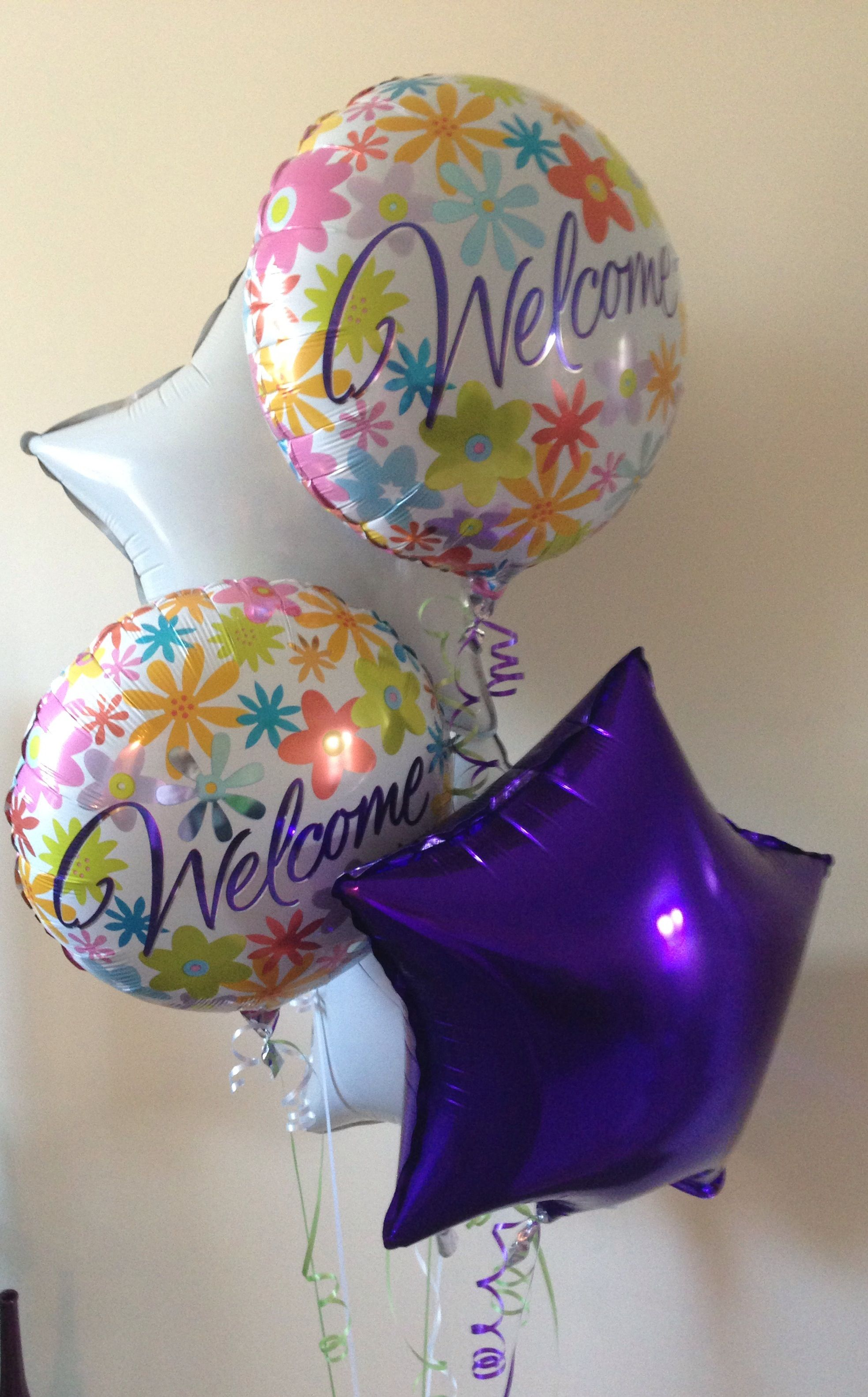 Balloon bouquet is a fun and long lasting gift