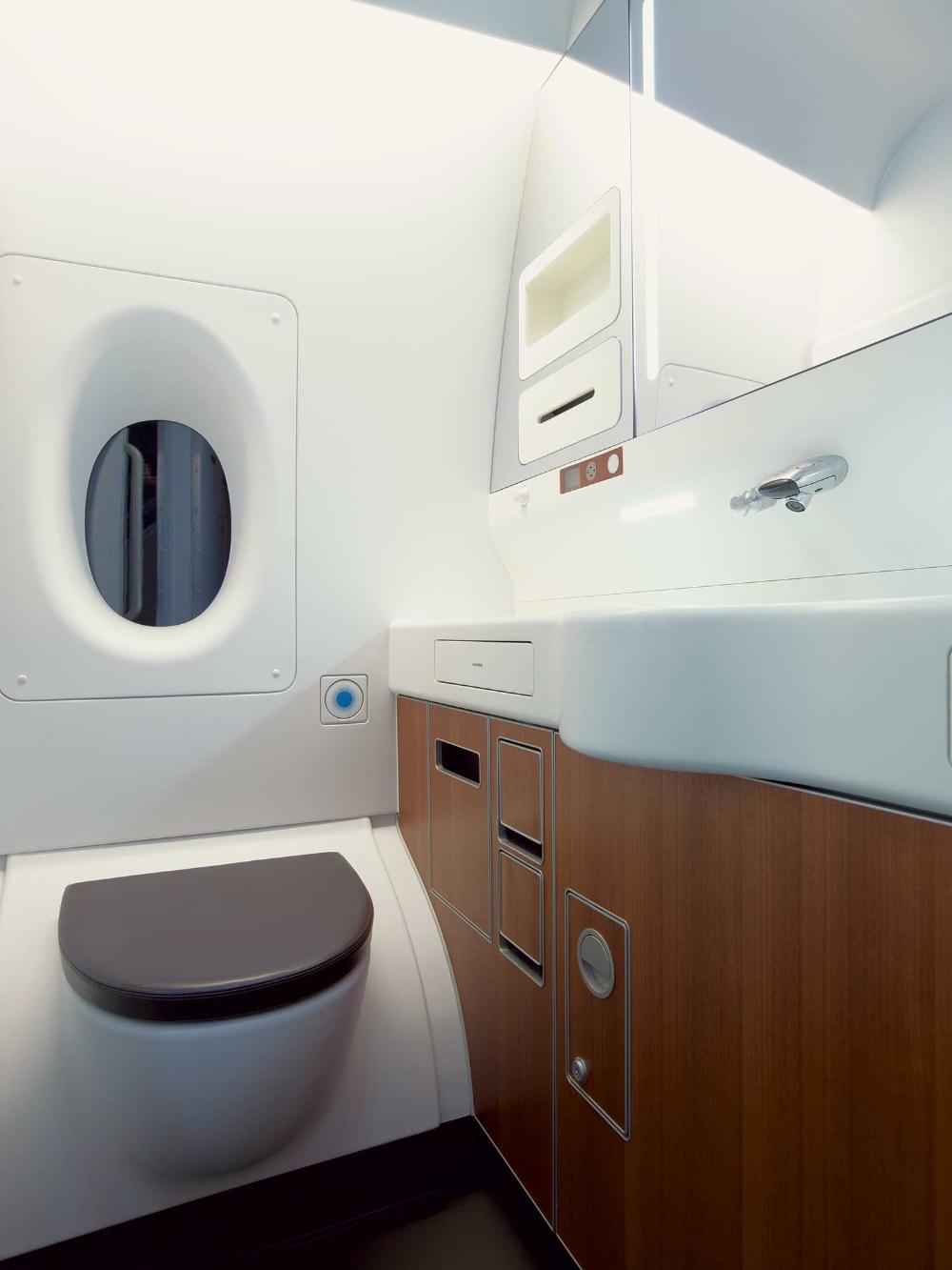 Qantas A380 Marc Newson in 2020 Airplane interior