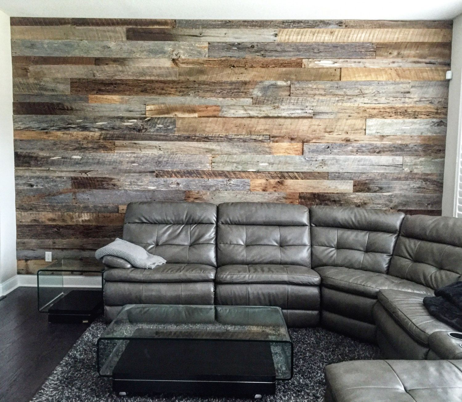 Cet Article N Est Pas Disponible Reclaimed Wood Wall Wood Walls Living Room Reclaimed Wood Accent Wall #pallet #wall #living #room
