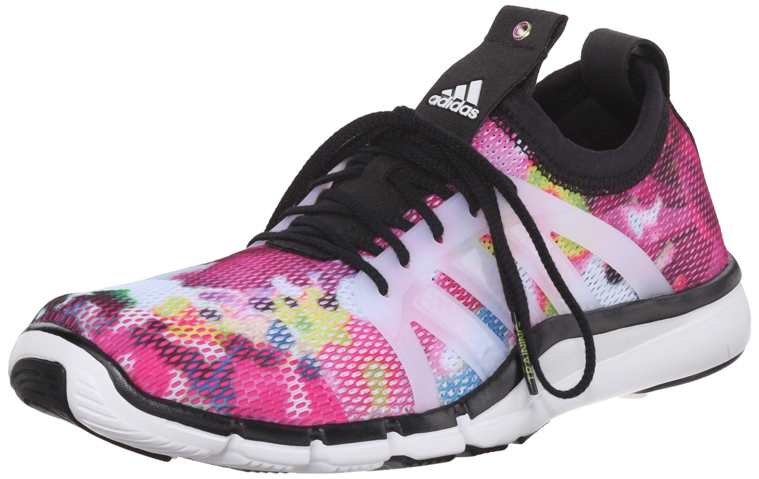 Supone Multitud Multitud  adidas Performance Women's Core Grace Training Shoe,Black/White ...