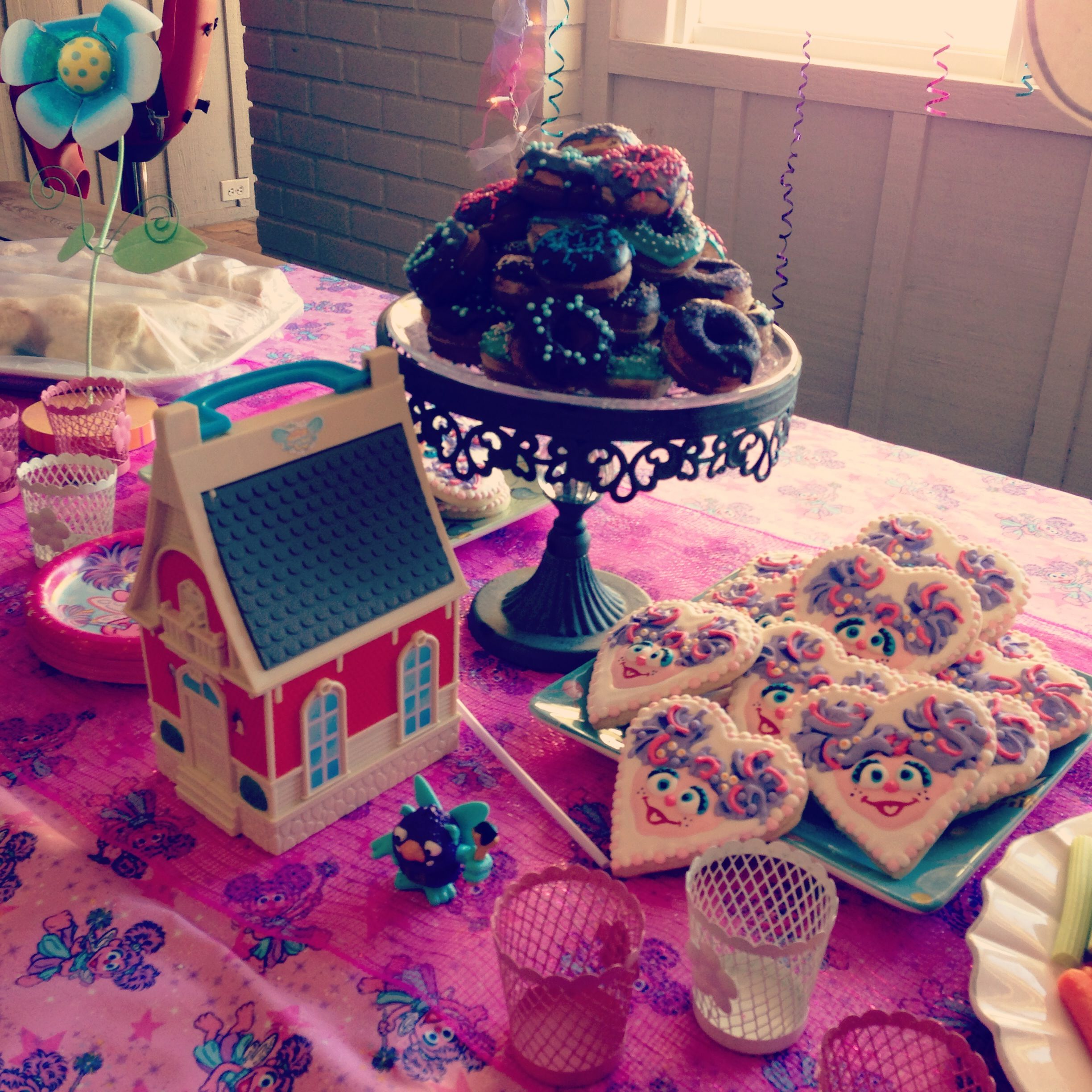 22nd Birthday Bash Abby And Brittany: Abby Cadabby Party Ideas - Love The Cookies