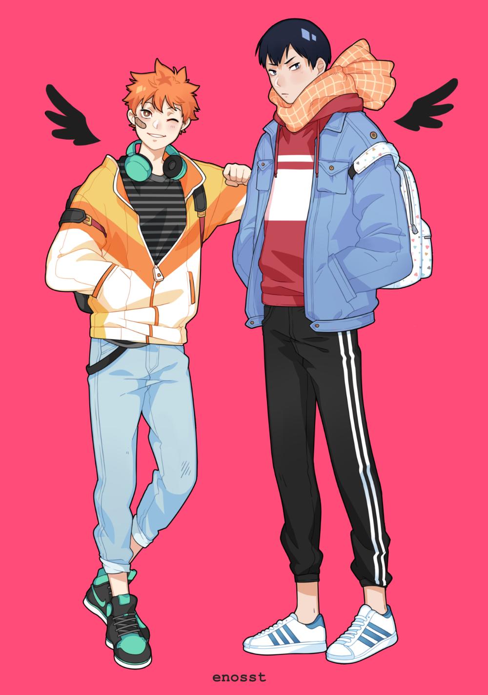 kagehina Tumblr Diseño de personajes, Arte de anime y