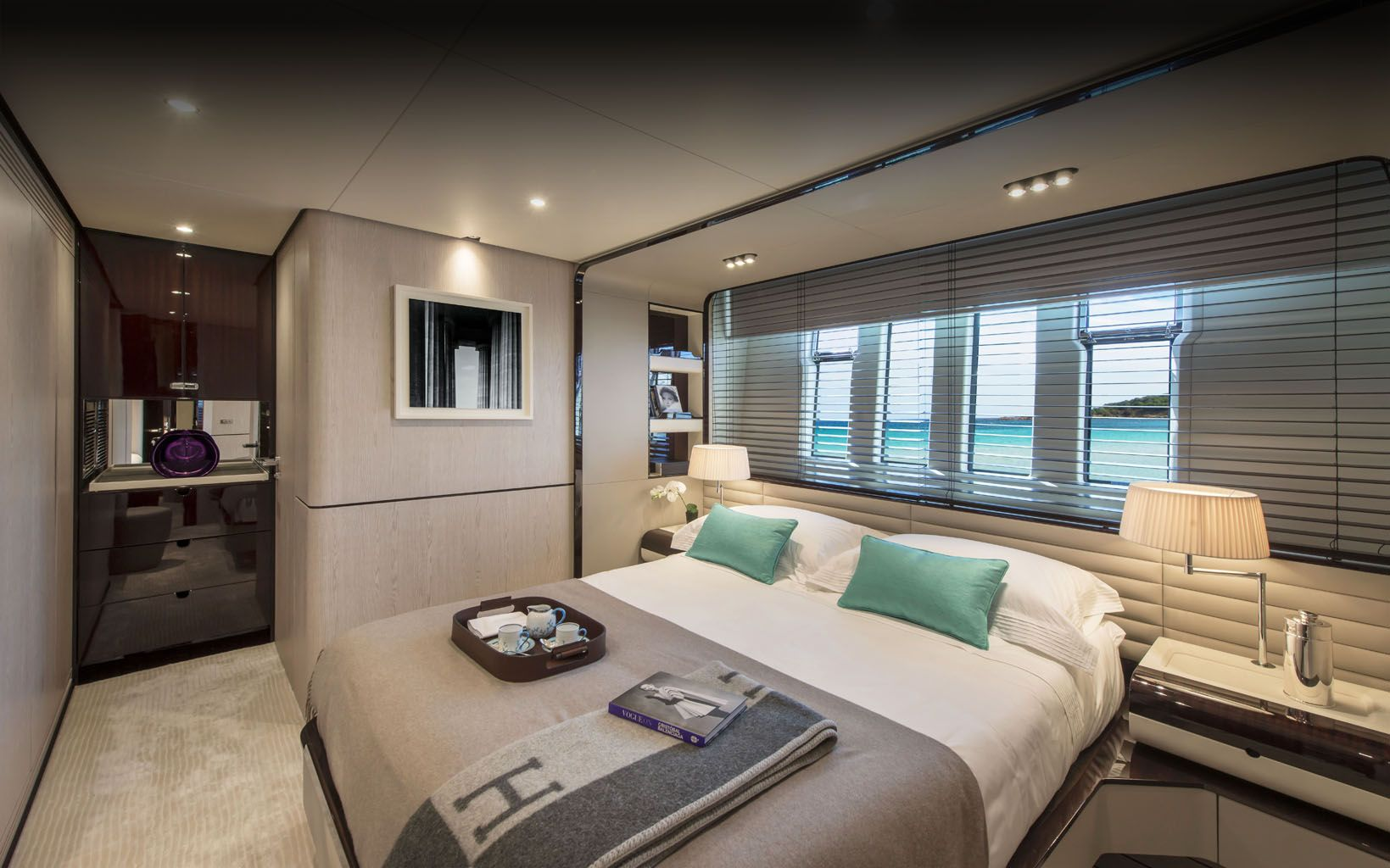 POSEIDON BOAT INTERIOR DESIGN BEDROOM Pinterest Boat
