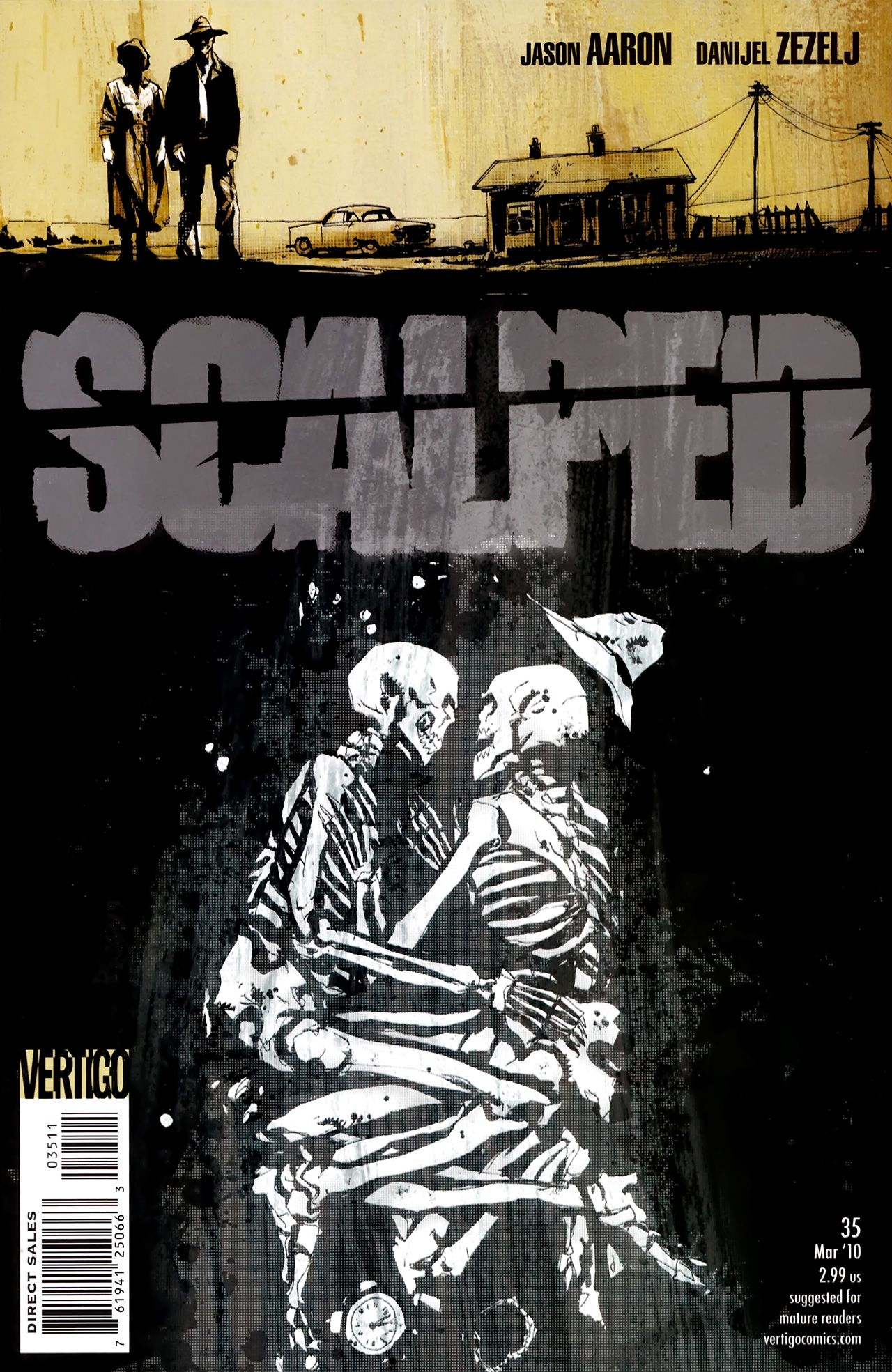 Image result for scalped comic images