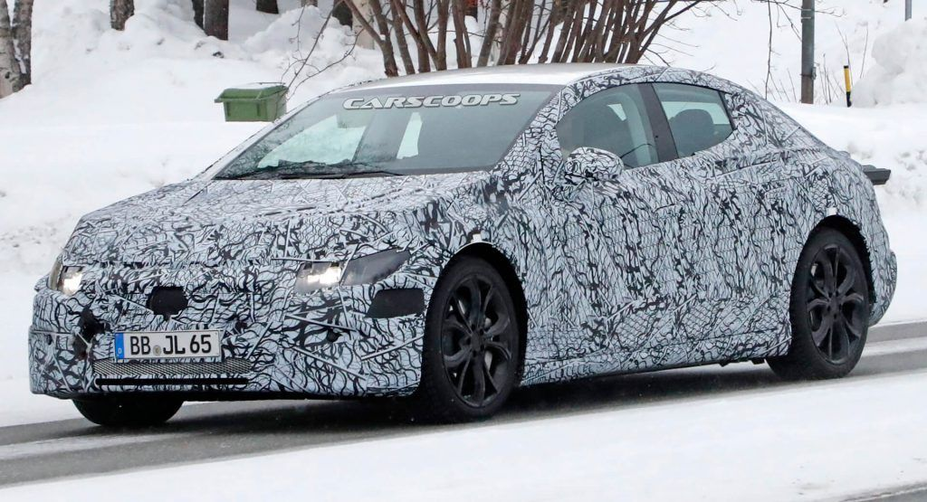 2022 Mercedes-Benz EQE Spied Getting Ready To Join The Electric Craze   Carscoops