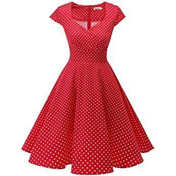 Photo of Bbonlinedress Robe Vintage rétro 1950's Audrey Hepburn de so…