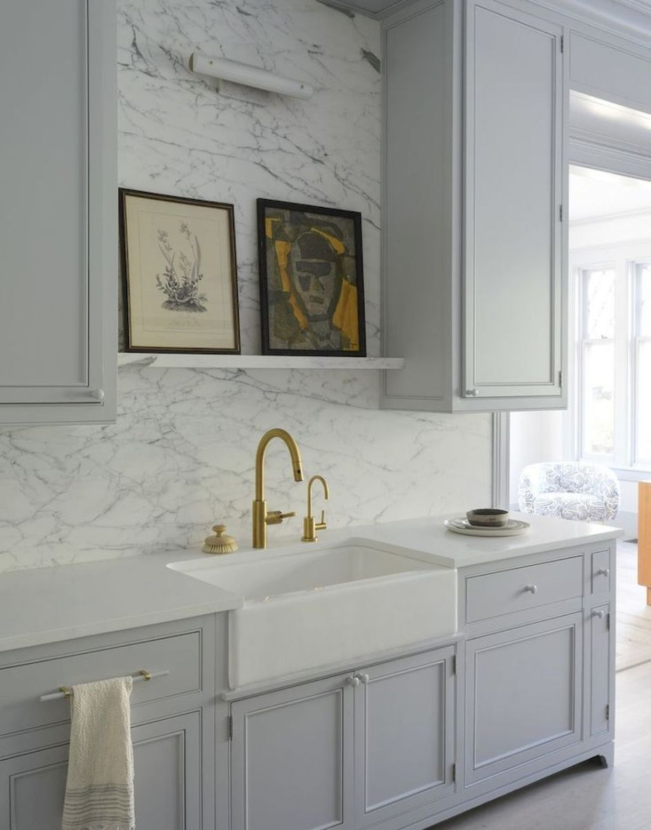 Effective Neutral Colors For Beautiful White Kitchen Concept Part